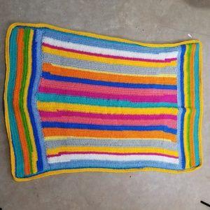 Handmade Granny Rectangular Afghan Lap Blanket